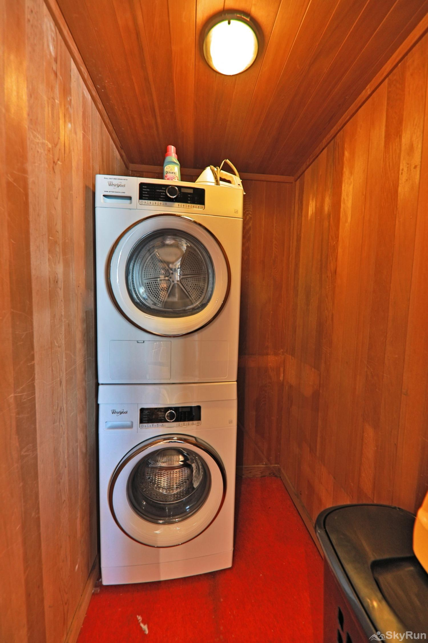 Snowblaze Athletic Club -A11 Private Washer and Dryer
