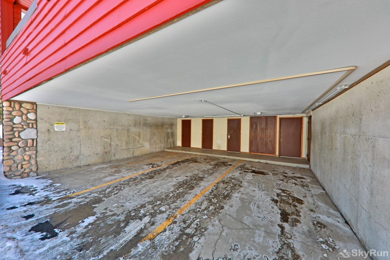 Snowblaze Athletic Club -A11 Covered Garage