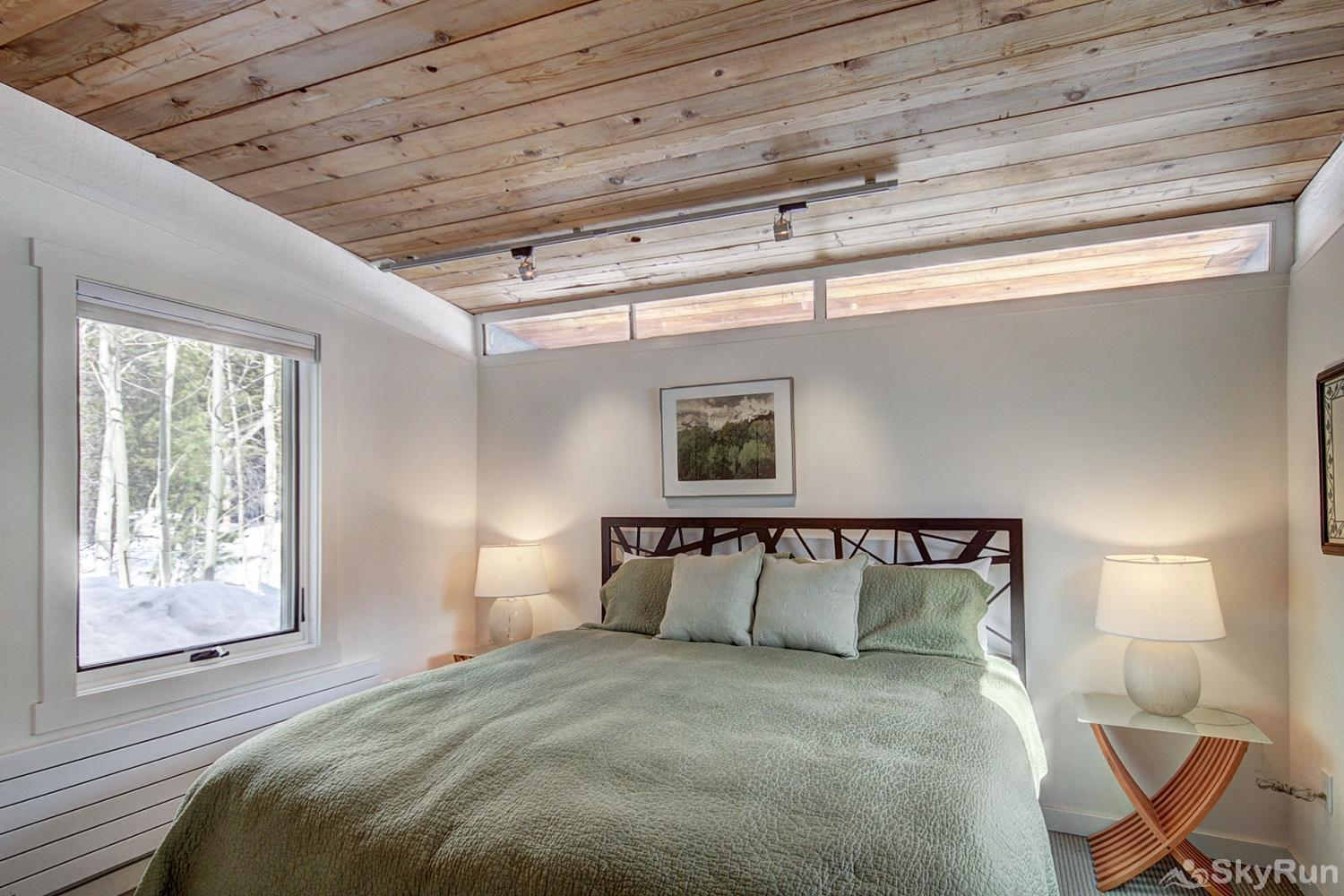 Elk Horn Cabin Additional view of main level king bedroom
