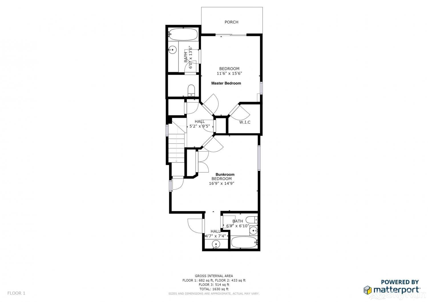 1018 Lowell Lookout Floor Plan Lower Level