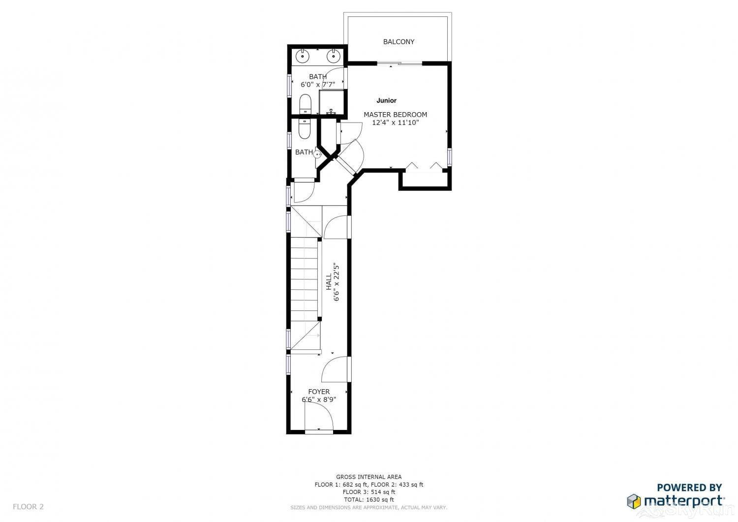 1018 Lowell Lookout Floor Plan Main Level