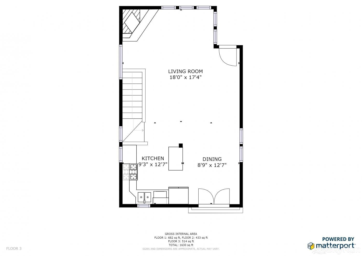 1018 Lowell Lookout Floor Plan Upper Level