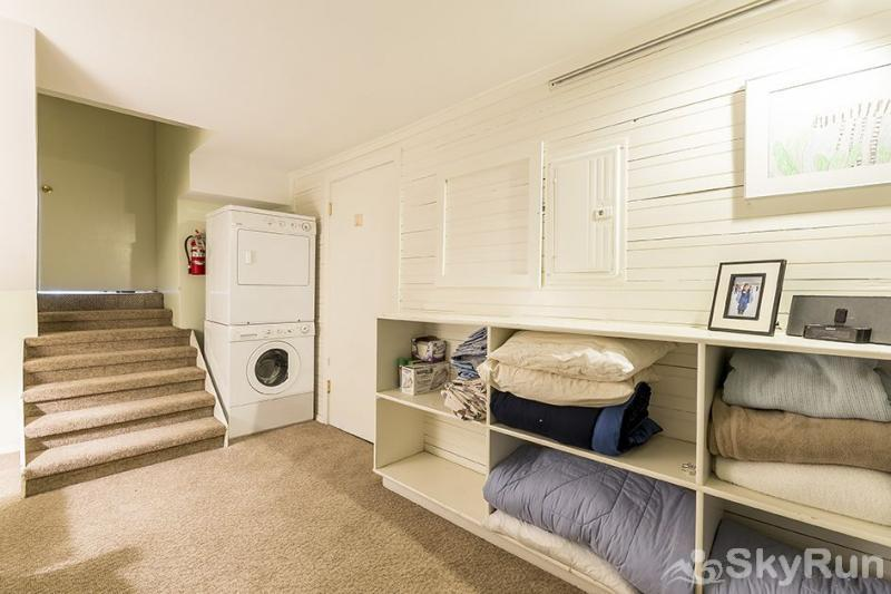 Herbage Townhomes A6 You will have your own washer-dryer.