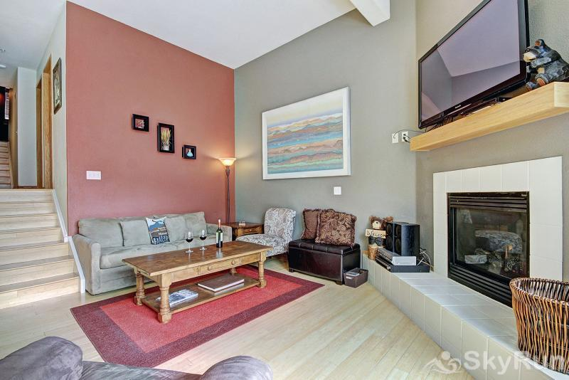 A6 Gore Trail Cozy living area with many amenities