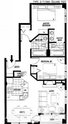 8452 Dakota Lodge Floor Plan
