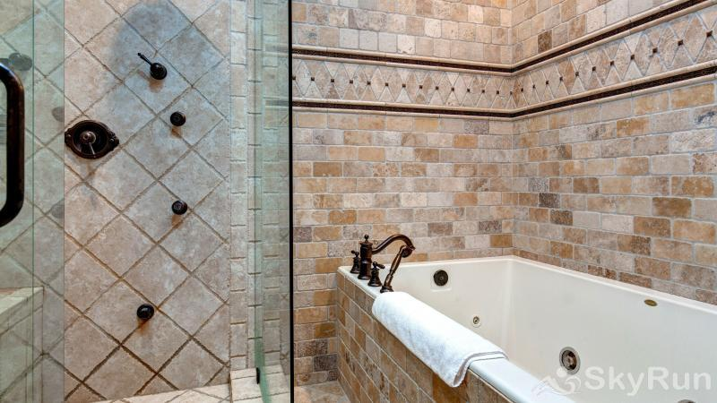 Mountain Home Retreat 1235H Master Tub Shower