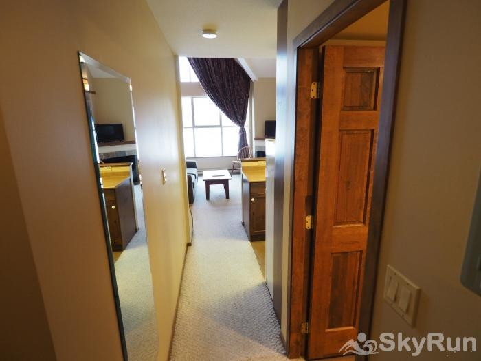 Apex Mountain Inn Double Loft Suite 401-402 Entrance