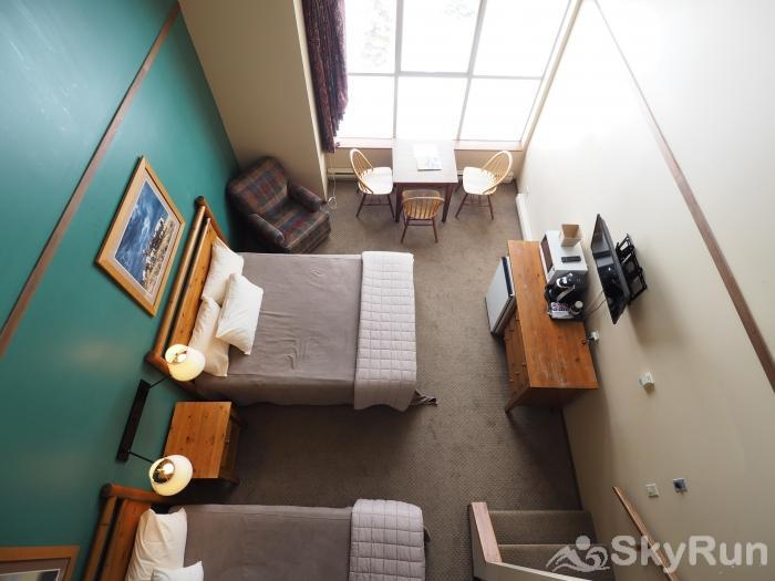 Apex Mountain Inn Standard Loft Suite 409 View from the Loft