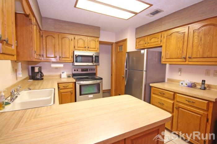 PONDEROSA PARADISE Fully Equipped Kitchen