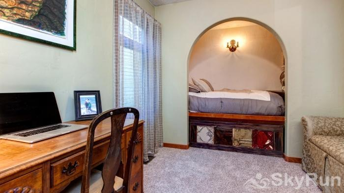 Charming Stone Home DV Drive Guest Bedroom