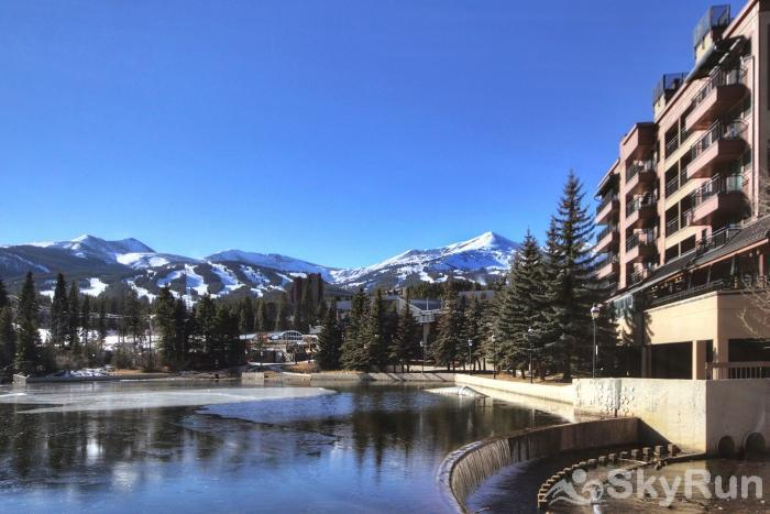 Village at Breck Antero 1503 Overlooks the beautiful Maggie Pond