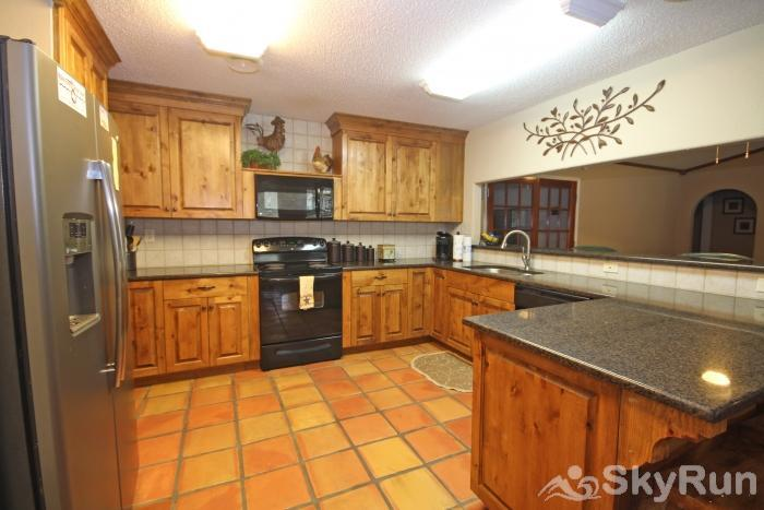 STAR OF TEXAS AND COTTAGE COMBO Fully Equipped Kitchen