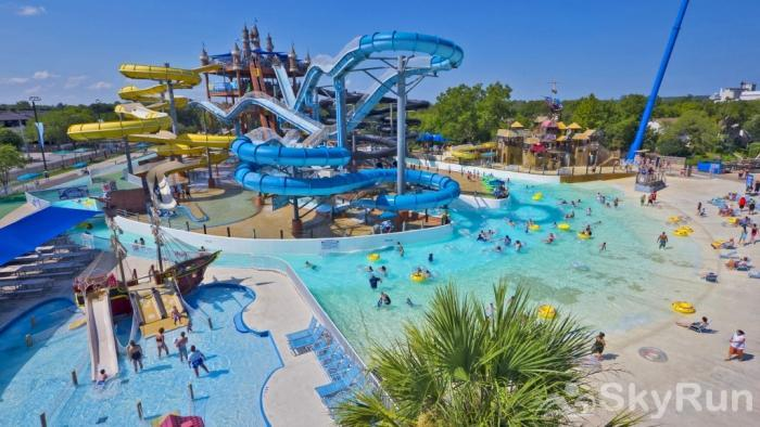 THREE'S A CHARM Schlitterbahn Waterpark in Nearby New Braunfels