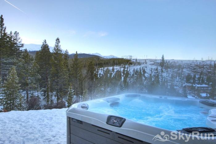 The Moose Chalet Soothe your achy muscles after a day on the slopes in your own private outdoor hot tub!