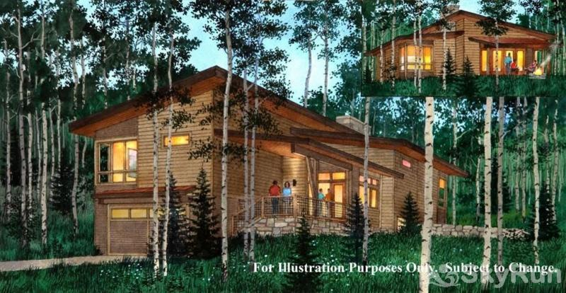 61 Summit Sky Ranch Rendering of a 3 bedroom cabin