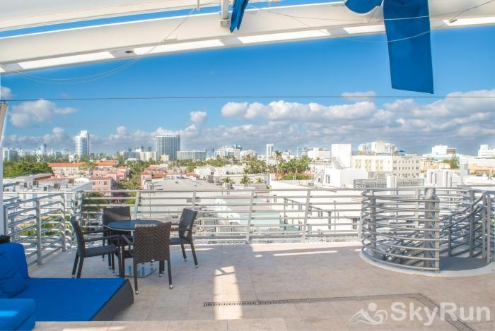 Penthouse De Soleil South Beach - on Ocean Drive Miami Beach Relaxed, Completely Private, Pleasant Views!