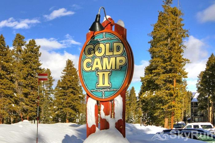 Gold Camp J138 Gold Camp sign