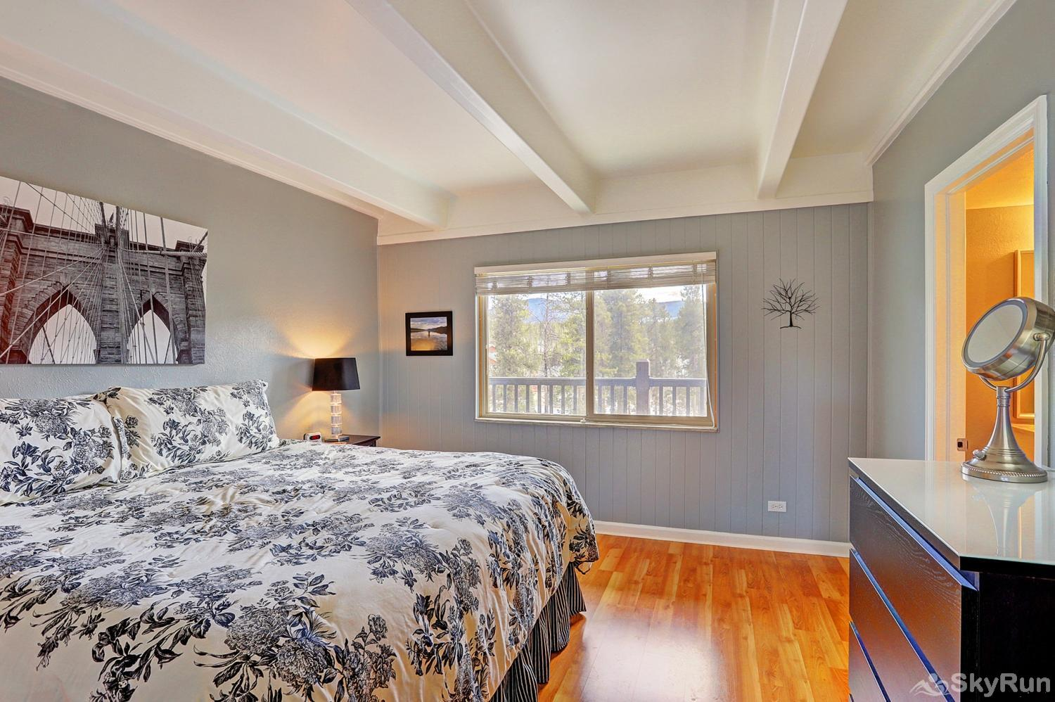 Ski and Racquet Club B106 Master bedroom featuring king size bed