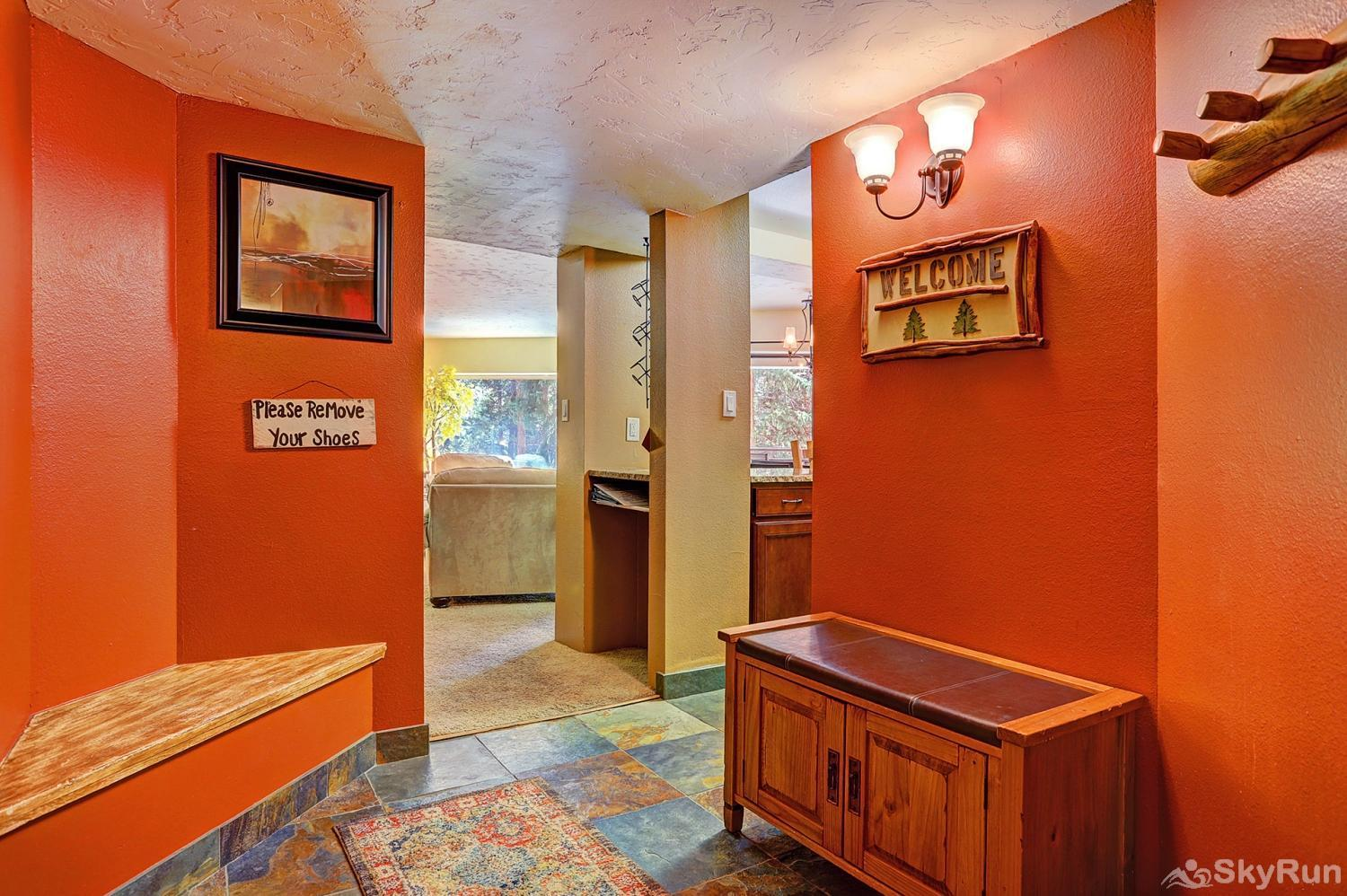 Powderhorn C202 Entryway with room for coats and boots