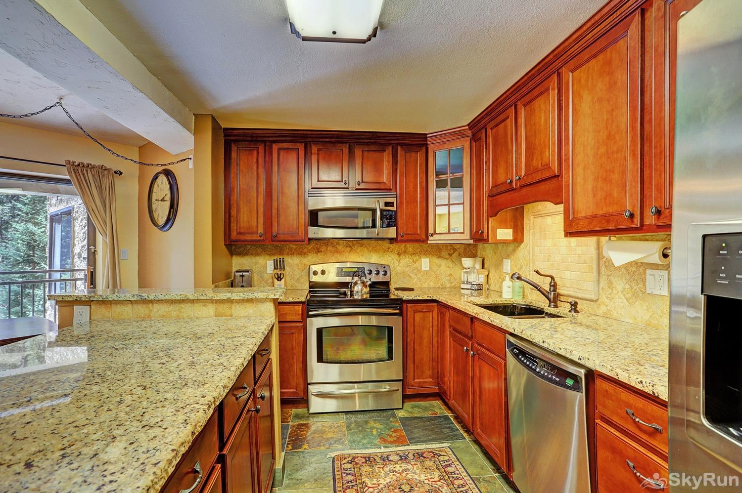 Powderhorn C202 Enjoy tasty home-cooked meals from the comforts of a fully equipped kitchen