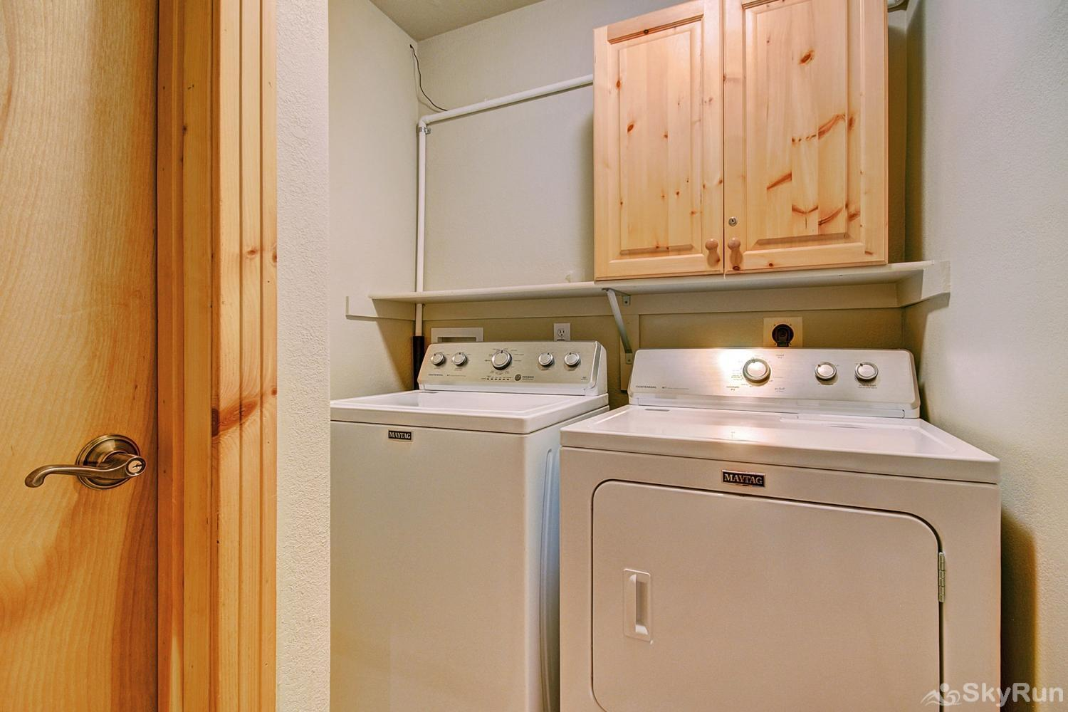 Elk Ridge 406 Private in home washer and dryer