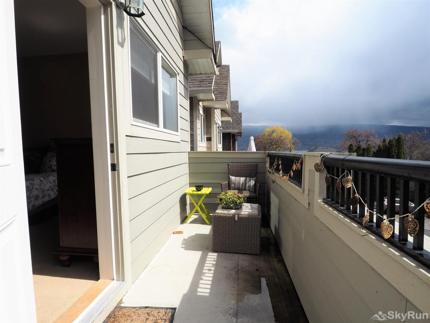 Old Summerland 3 bedroom home Walk out on to your own private deck from the master suite.  Has a gorgeous peek-a-boo view of the lake