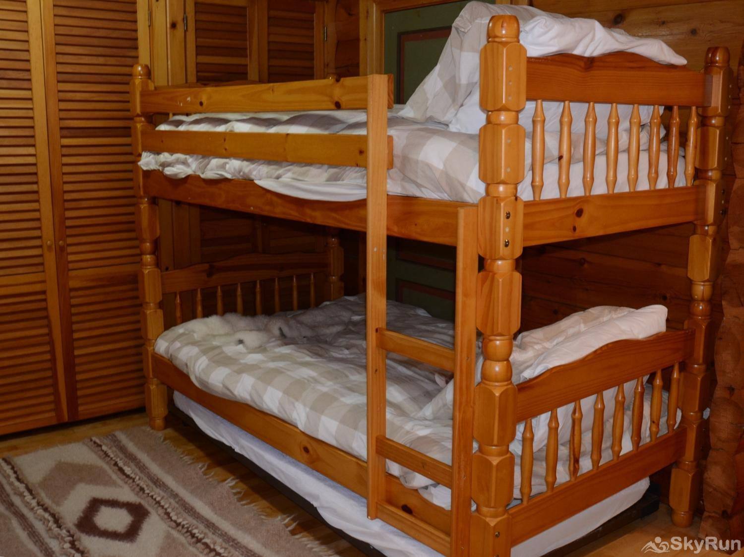 Norwegian Lane House Second set of bunks