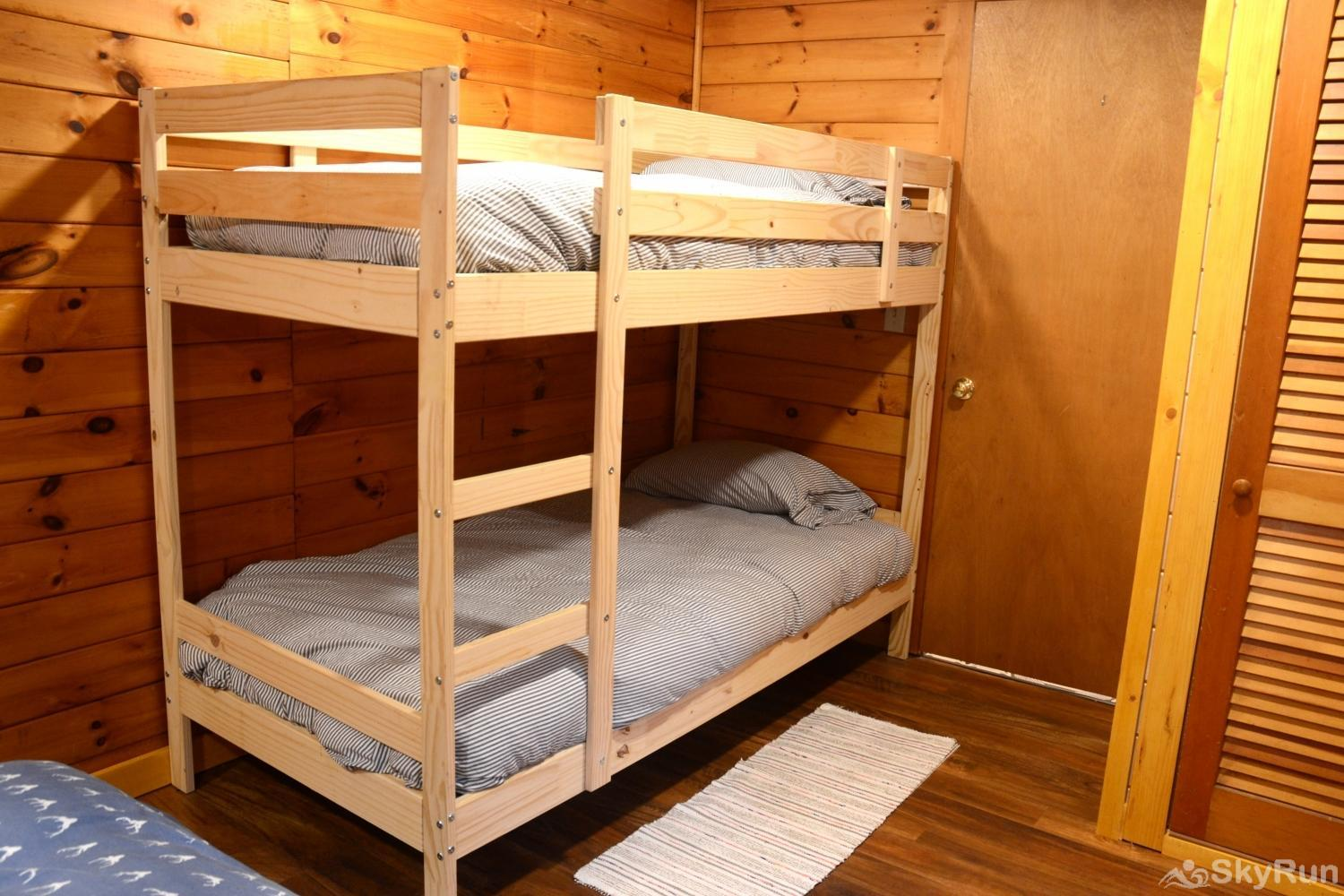 Norwegian Lane House Third set of bunks