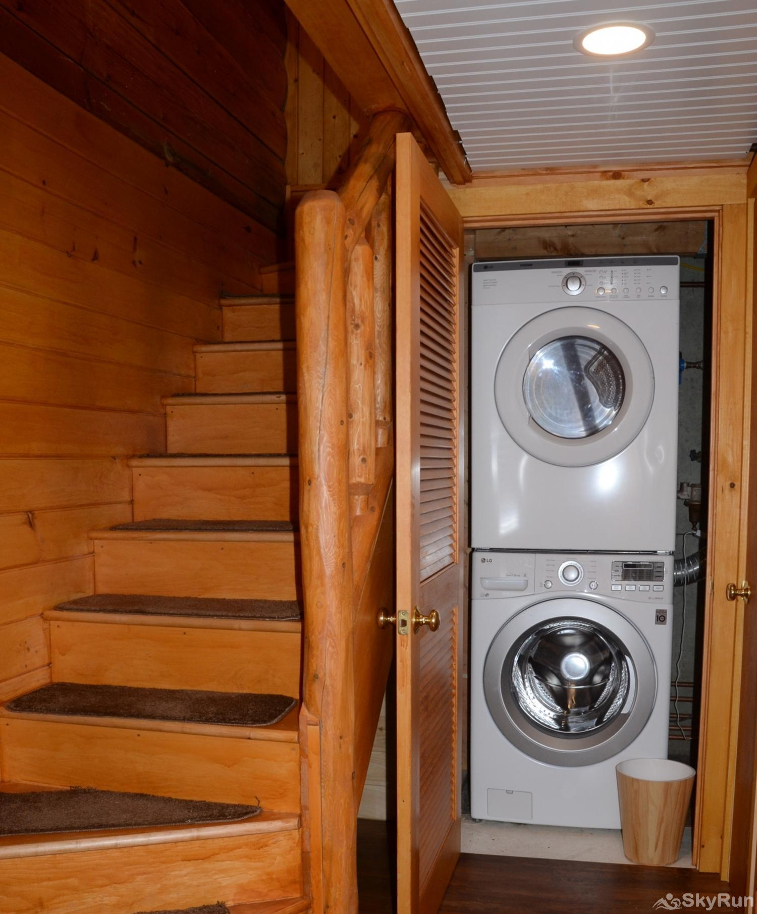 Norwegian Lane House Washer and dryer