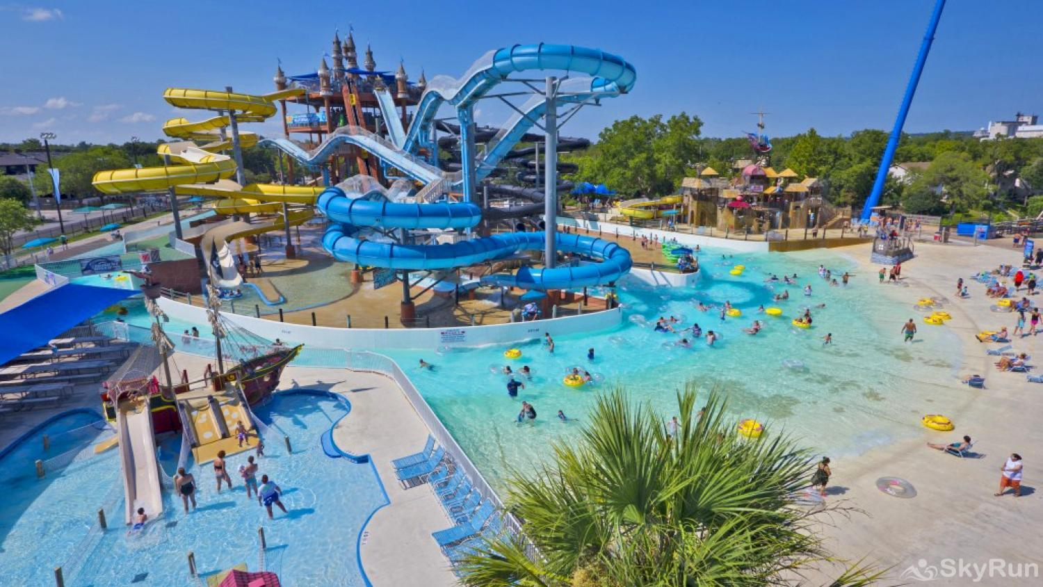 ANCHORS AWAY Schlitterbahn Waterpark in nearby New Braunfels