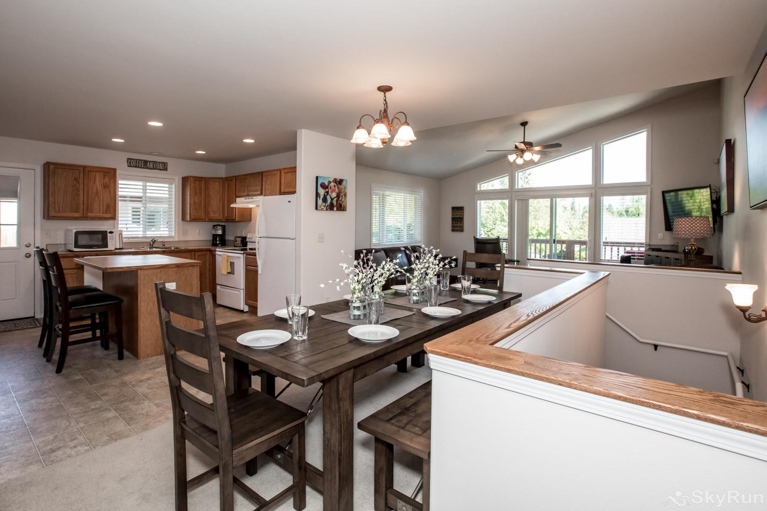Red Fox Hollow This townhome has well stocked kitchen so you can cook a variety of meals