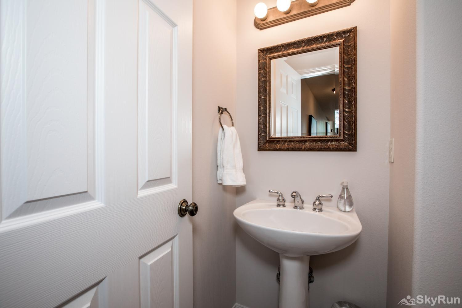 Red Fox Hollow Half bath on top floor