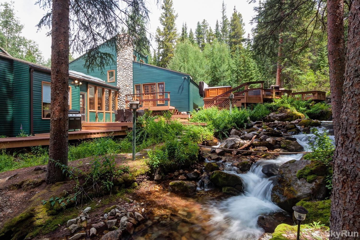 Creekside Chateau Majestic creekside Breckenridge vacation home