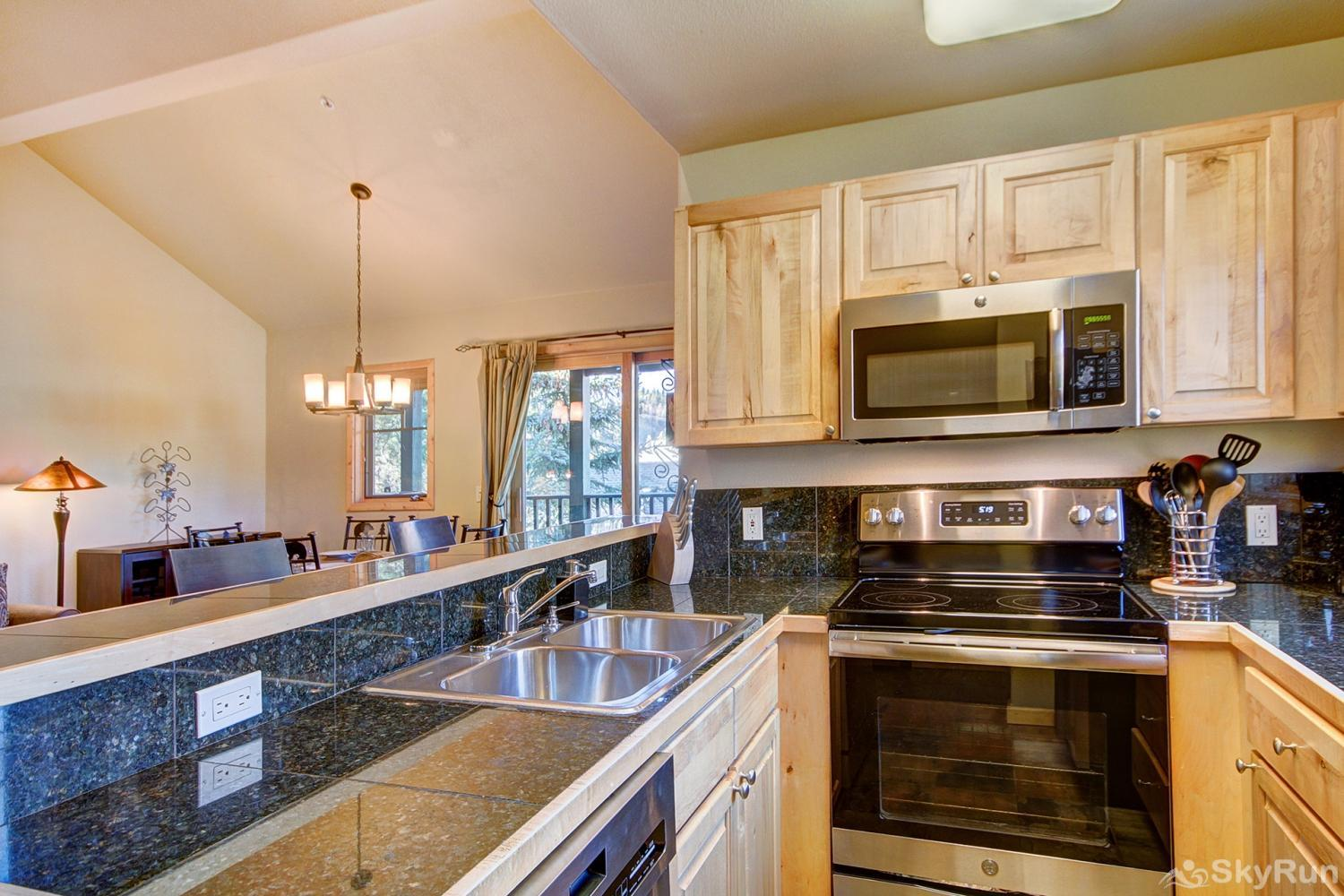 Twin Elk Lodge D16 Prepare tasty home cooked meals with the convenience of a fully equipped kitchen
