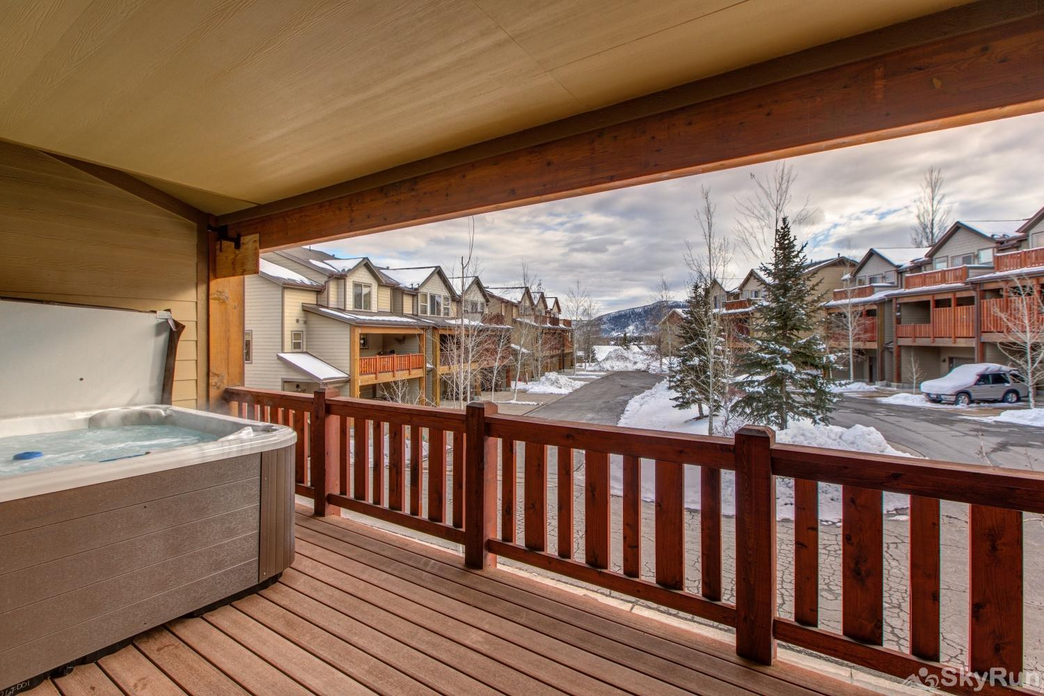 Luge Lane Luxury 5452 Great View from Hot Tub