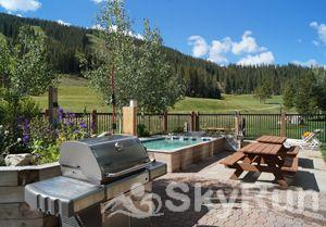 FP300 Foxpine Inn Hot Tub, Grill and Picnic Area
