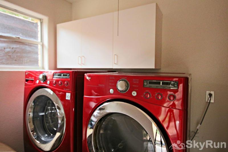 GUADALUPE RIVER GETAWAY Washer and Dryer Available for Guest Use