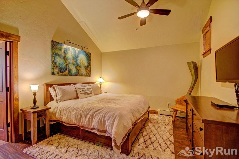 Breck Ski Chalet at Mountain Thunder Master Bedroom with King Bed