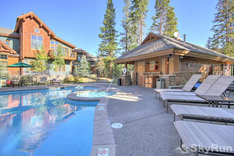 Breck Ski Chalet at Mountain Thunder Outdoor Pool