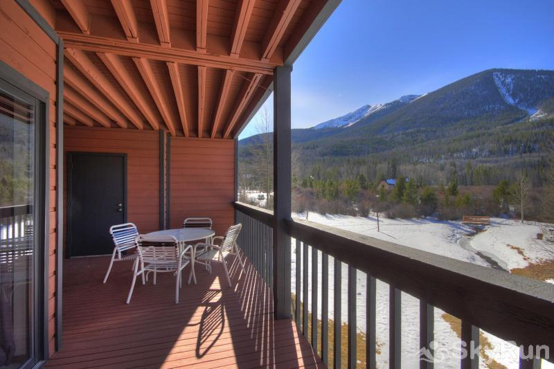 241C Mountain Side 2BR 2BA Spacious deck with gorgeous views