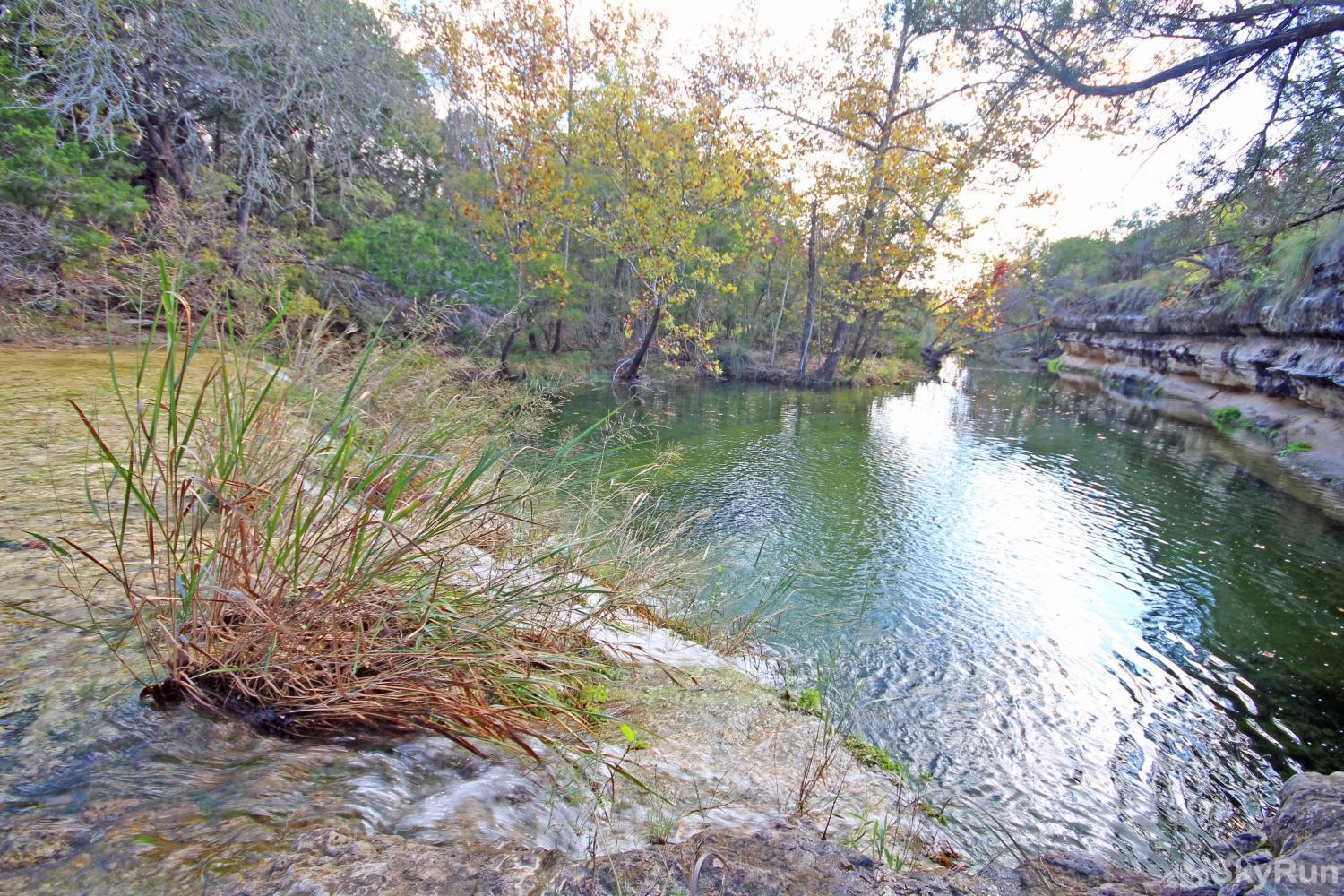 STAR HOUSE Hill Country Creek on the Property