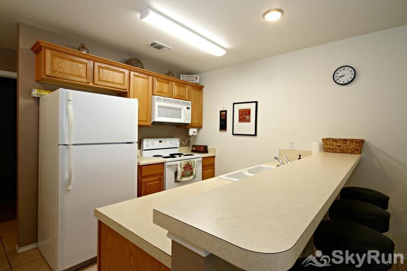 WATERWHEEL RIVER CONDO Fully Equipped Kitchen
