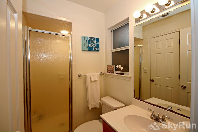 WATERWHEEL RIVER CONDO Hall Bath with Walk-in Shower