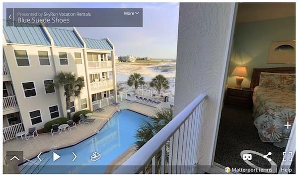 Virtually Walk Through Our Vacation Rentals Before You Rent!